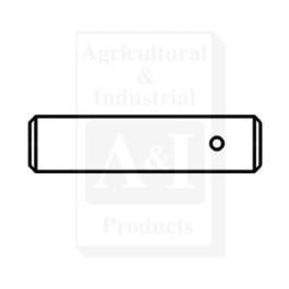 Pin, drawbar front