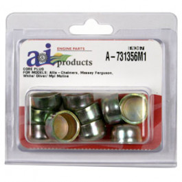 Freeze Plug, Cylinder Block, 10 pack