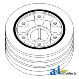 Pulley, Crankshaft (3 Groove)