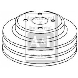 Pulley, Water Pump (Double Groove)