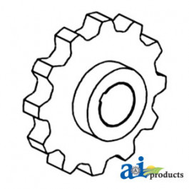 Sprocket, Feeder Chain (Center)