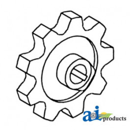 Sprocket, Clean/Tailing Auger