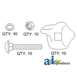 Clip Kit (pk 10)
