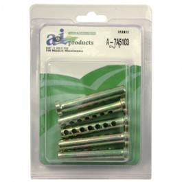 Clevis, 7 Hole Pin Universal, 5 pack