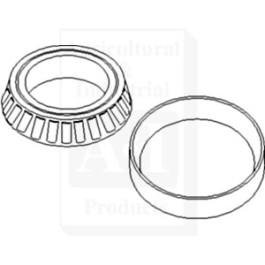 Bearing, Cone; MFWD Wheel Hub Inner