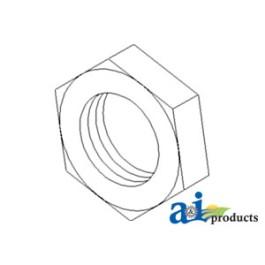 Nut, Jam,  LH Thread, MFD Steering Cylinder, M24X1.5, 8.8, Zinc