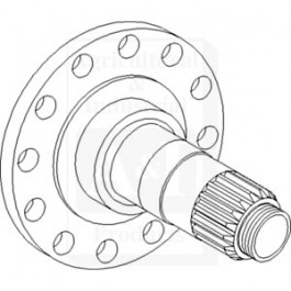 Shaft, Hub Carrier
