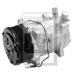 Compressor, New, Sanden Style w/ Clutch (8103)