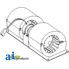 Blower Assembly Heater- A/C
