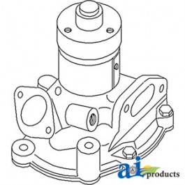 Water Pump L/ Pulley