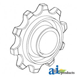 Sprocket, Feeder House Chain (Outer)