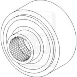 Gear, Planetary Ring; MFWD
