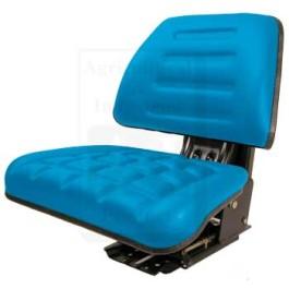 Seat w/ Trapezoid Back, BLU