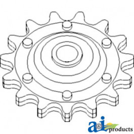 Sprocket Assy.; Idler