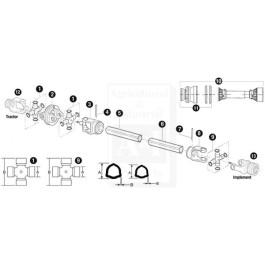 Inner Drive Tube; Size 6