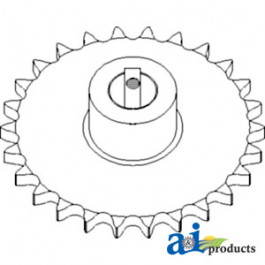 Sprocket, Bubble Up Auger; Driven