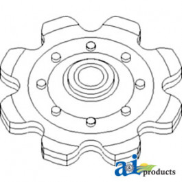 Sprocket, Row Unit Idler
