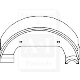 Brake Shoe; Set of 2
