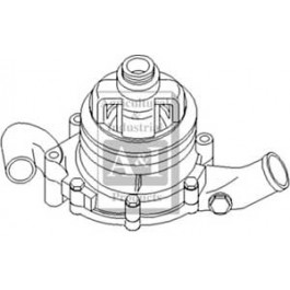 Pump, Water w/ Single Thr. Pulley
