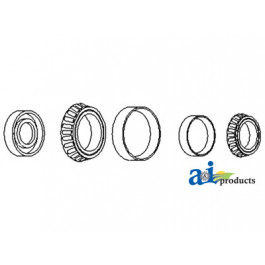 Wheel Bearing Kit (6 Bolt Hub)