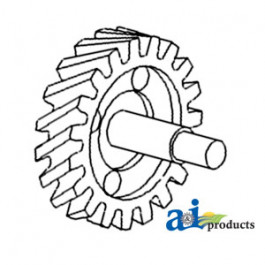 Gear, Oil Pump w/ Shaft