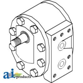 Pump, Hydraulic Gear - 93835C92