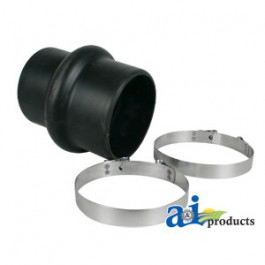 "Centri Rubber Hump Hose Reducer w/2 Clamps 4""-4 1/2"""