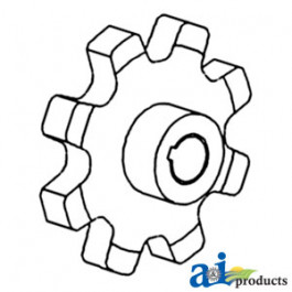 Sprocket, Clean/ Return Grain Elevator