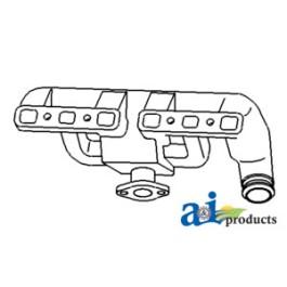 Manifold, Intake & Exhaust - 9N9425