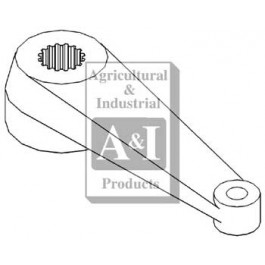 Steering Arm w/ 17 Internal Splines (LH)