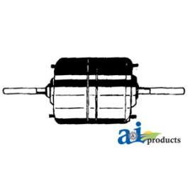 """Blower Motor (24 volt) (24volt, 3/8"""" X 2"""" shaft, CCW rotation, 3 sp)"""