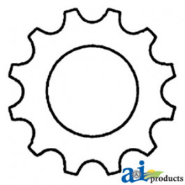 "Sprocket w/ 1 5/8"" Hole"
