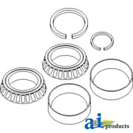 Bearing, Tapered Roller Kit