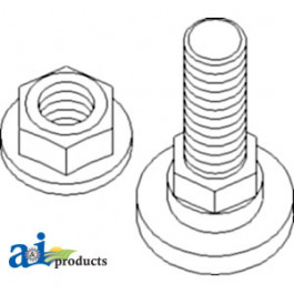Kit, Blade Bolt & Nut (6 Bolts & 6 Nuts)