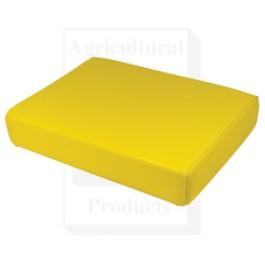 "Seat Cushion, Wood Base, 19.5"" X 14"", YLW"