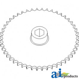 Sprocket, Row Unit; High Speed, 48 Tooth / 50 Chain