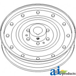 Pulley, Rotary Screen Drive