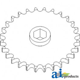 Sprocket, Row Unit; 28 Tooth / 60 Chain