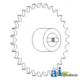 Sprocket, Upper Tailings Auger Housing