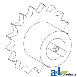 Sprocket, Countershaft Drive, Unloading Auger (Rice)