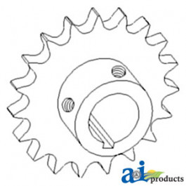 Sprocket, Countershaft Drive, Unloading Auger