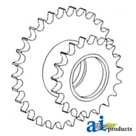 Sprocket Assy, Drive Chain Idler