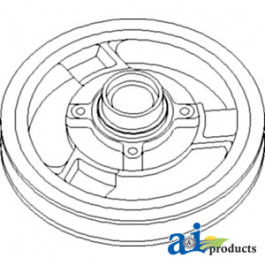 Pulley, Header  Electromagnetic Clutch