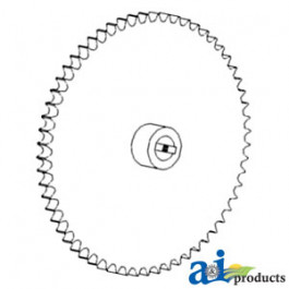 Sprocket Assy, Grain Tank Cross Auger