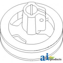 Pulley, Fixed Speed; Feeder House