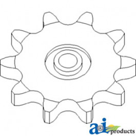 Sprocket, Row Unit Drive; 10 Tooth / 100 Chain