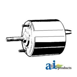 """Condenser Motor  (12volt, 5/16"""" X 1 1/2""""shaft, Rev. rotation)"""