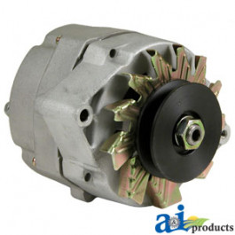 42 Amp/ 12V Neg 1-Wire Dixie Alternator