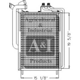 Oil Cooler/Condenser