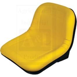 """Seat, Yellow Vinyl, 15"""""""
